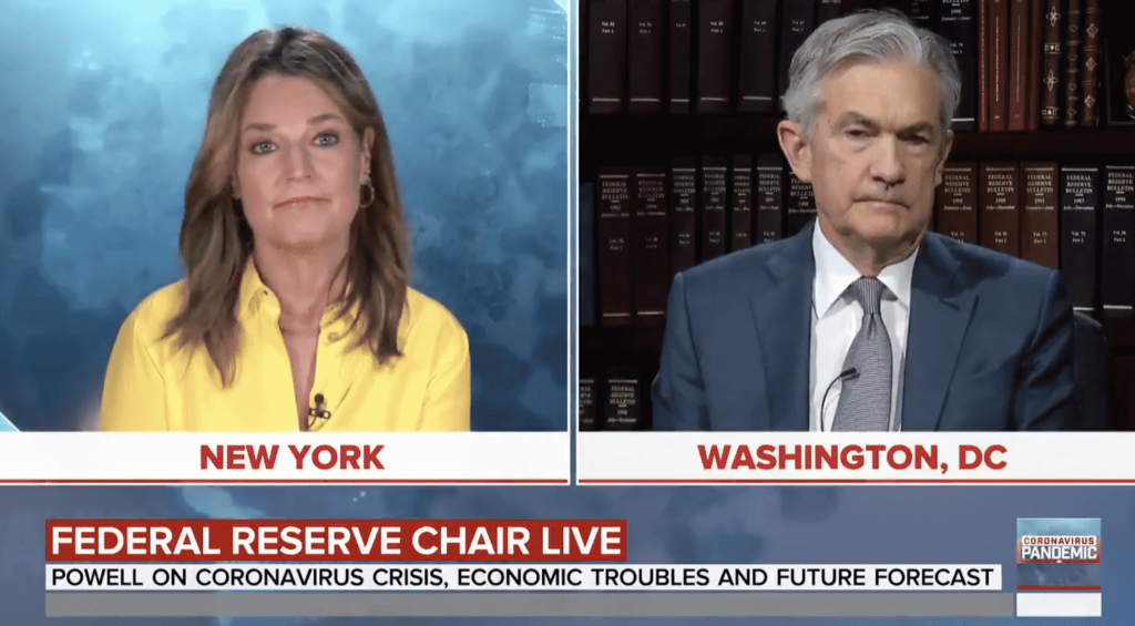 Federal Reserve Chairman Jerome Powell Says US May Already Be In Recession
