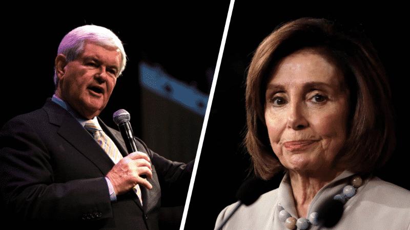 Gingrich Blasts Pelosi for Criticizing Trump, Calls Her a ...