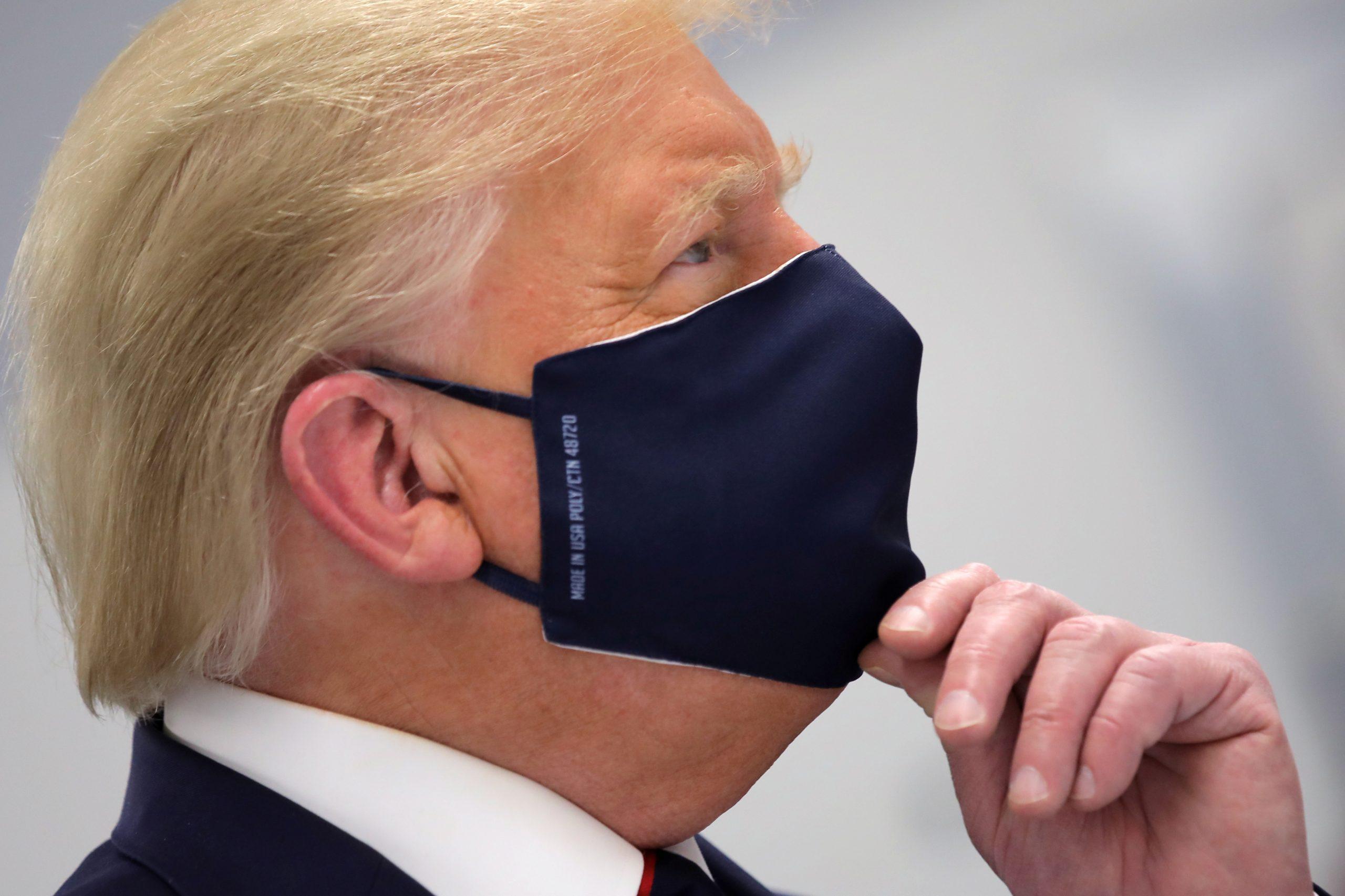 Chris Christie Says No One on Trump's Debate Prep Team Wore a Mask Ahead of the Debate
