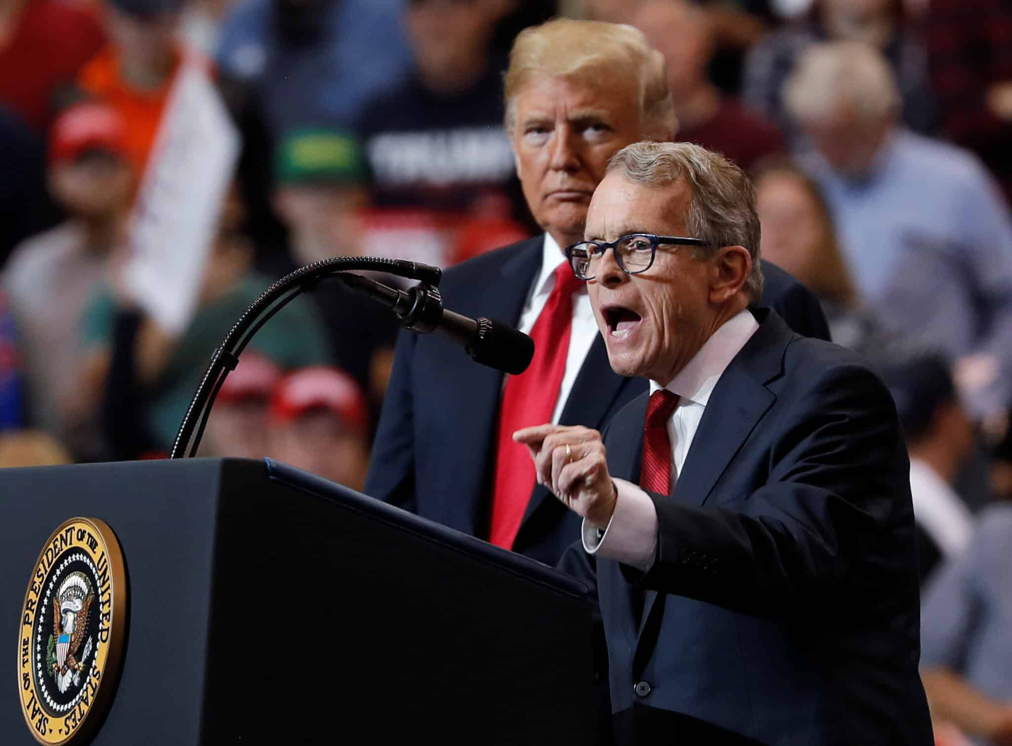 2020 08 06T170005Z 1 LYNXNPEG751ET RTROPTP 4 USA TRUMP scaled Ohio Governor Booed at Trump Rally in His State