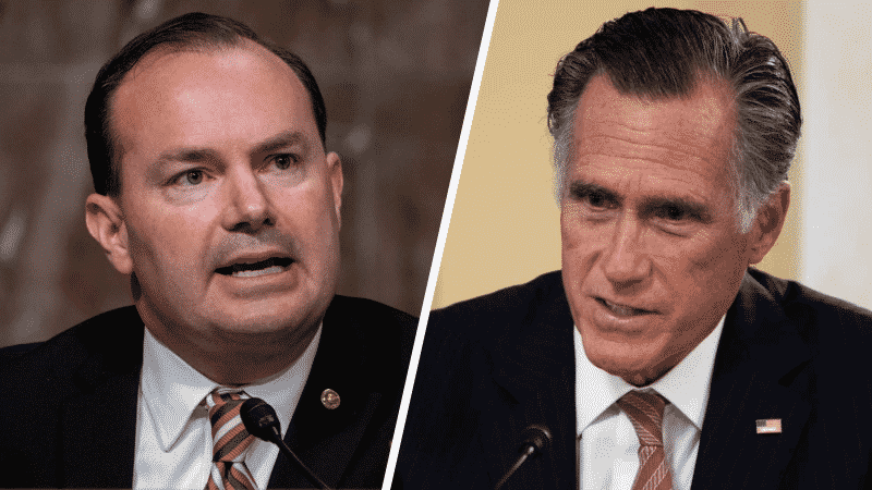 Sen. Mike Lee: 'Enough Room in the Republican Tent' for Both Romney and Me