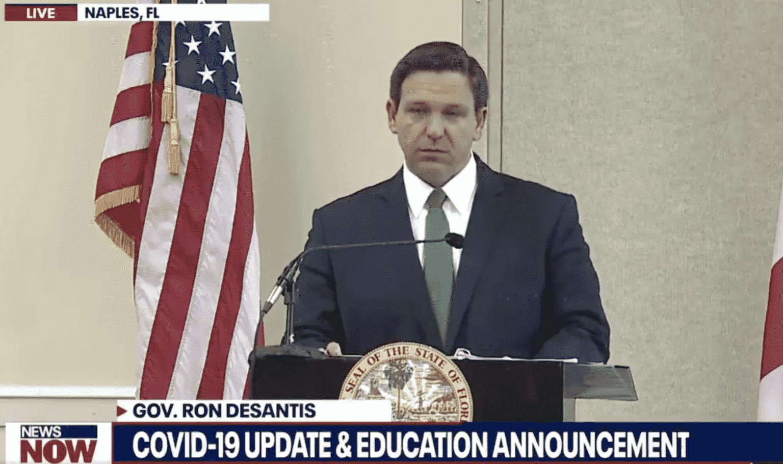 DeSantis Emphasizes Florida's Civics Curriculum Will ...